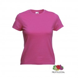 Camiseta Mujer Color Valueweight