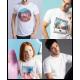 Camiseta personalizada blanca